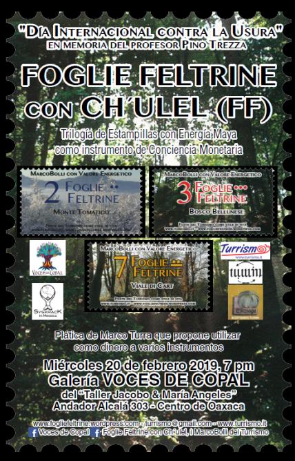 FOGLIE FELTRINE con CH'ULEL en Voces de Copal